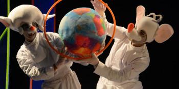 عرض مسرحية بينكي وبرين- انتاج مسرح أنسمبل فرينج الناصرة
