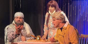 موريس وتفاحة - مسرح السرايا