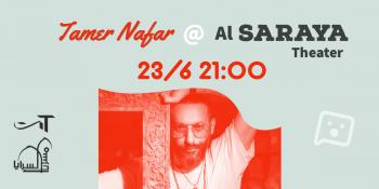 TamerNafar @ Alsaraya Theater Yaffa